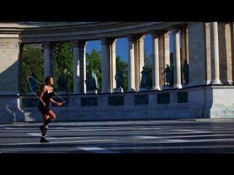 Budapest with Jump Rope. Jump Rope Girl (Adrienn Bánhegyi) - World's Best Jump Roper!!! http://www.budpocketguide.com/ #budapest #travel