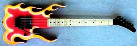steve vai guitars Fire Shaped - Google 検索