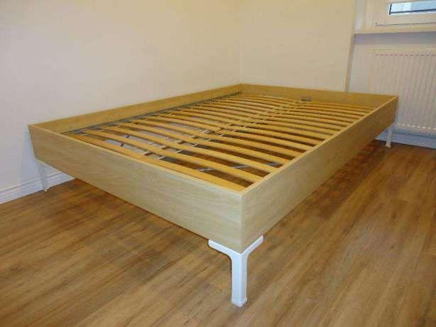Rama łóżka Podwójnego Ikea Engan Stelaż łóżko Podwójne