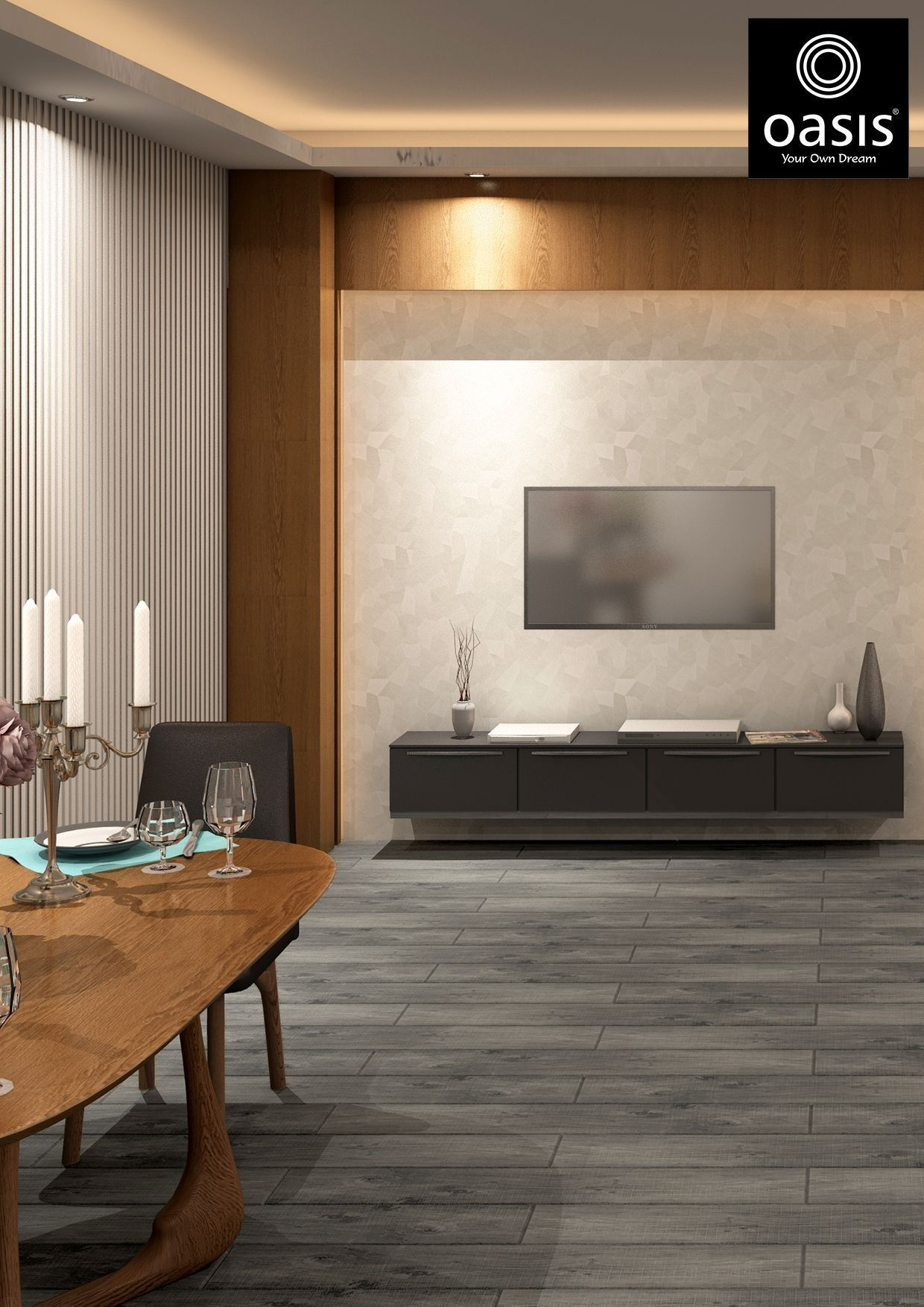 Lovely Dining Room Tiles Design Ideas In 2020 Living Room Tiles Living Room Flooring Living Room Designs India