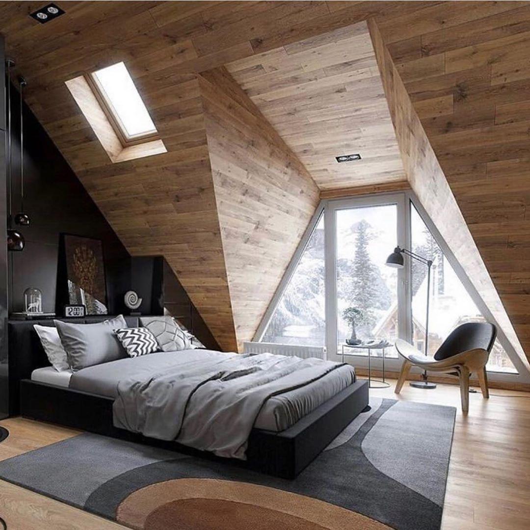 Pin On Cabin Ideas Popular inspiration attic bedroom