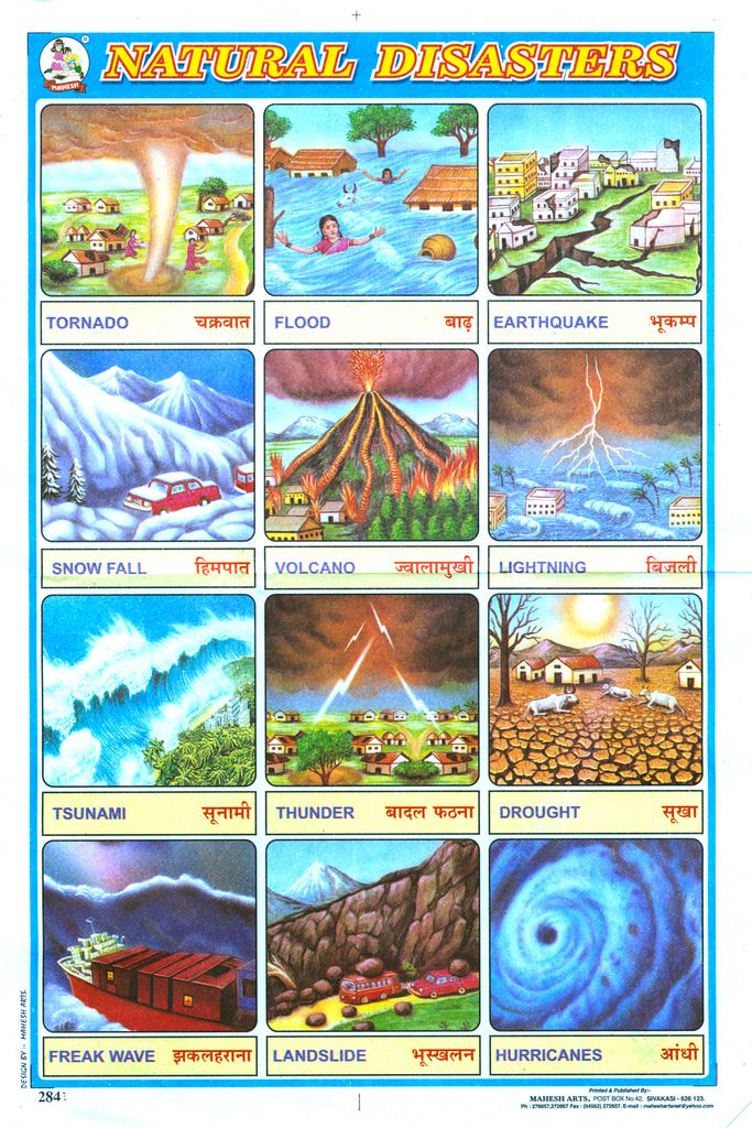 Balnibarbi nel mondo • Some Natural Disasters by feldenchrist...
