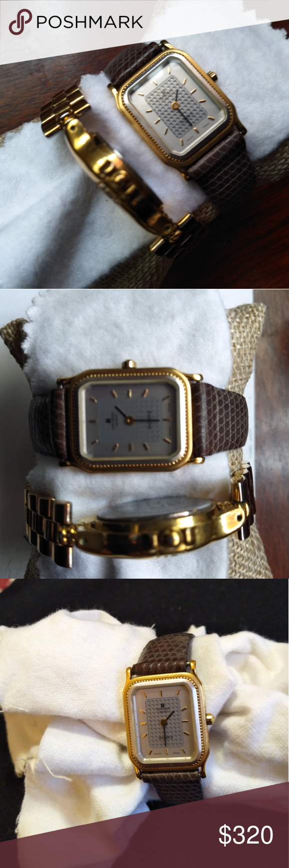 Vintage Geneve Universal Watch Vintage Geneve Universal Watch Solid 18K Gold Electroplate Swiss Made Geneve Accessories Watches #vintagewatches
