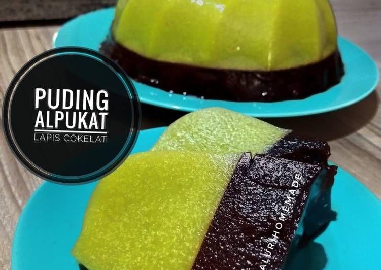 Resep Pudding 3 Lapis Marie Avocado Choco Oleh Vera Ferdinandus Resep Kue Keju Jepang Puding Alpukat