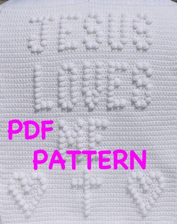 Jesus Loves Me Baby Blanket Pattern by TheBabyCrow | Things I love ...