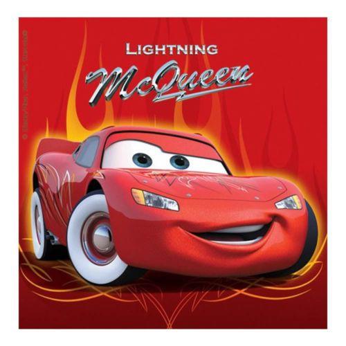 20 Disney Pixar Cars Party Lightning Mcqueen Disposable 6 5 Paper Napkins Carros Da Disney Carros Para Colorir Desenho Carros Disney