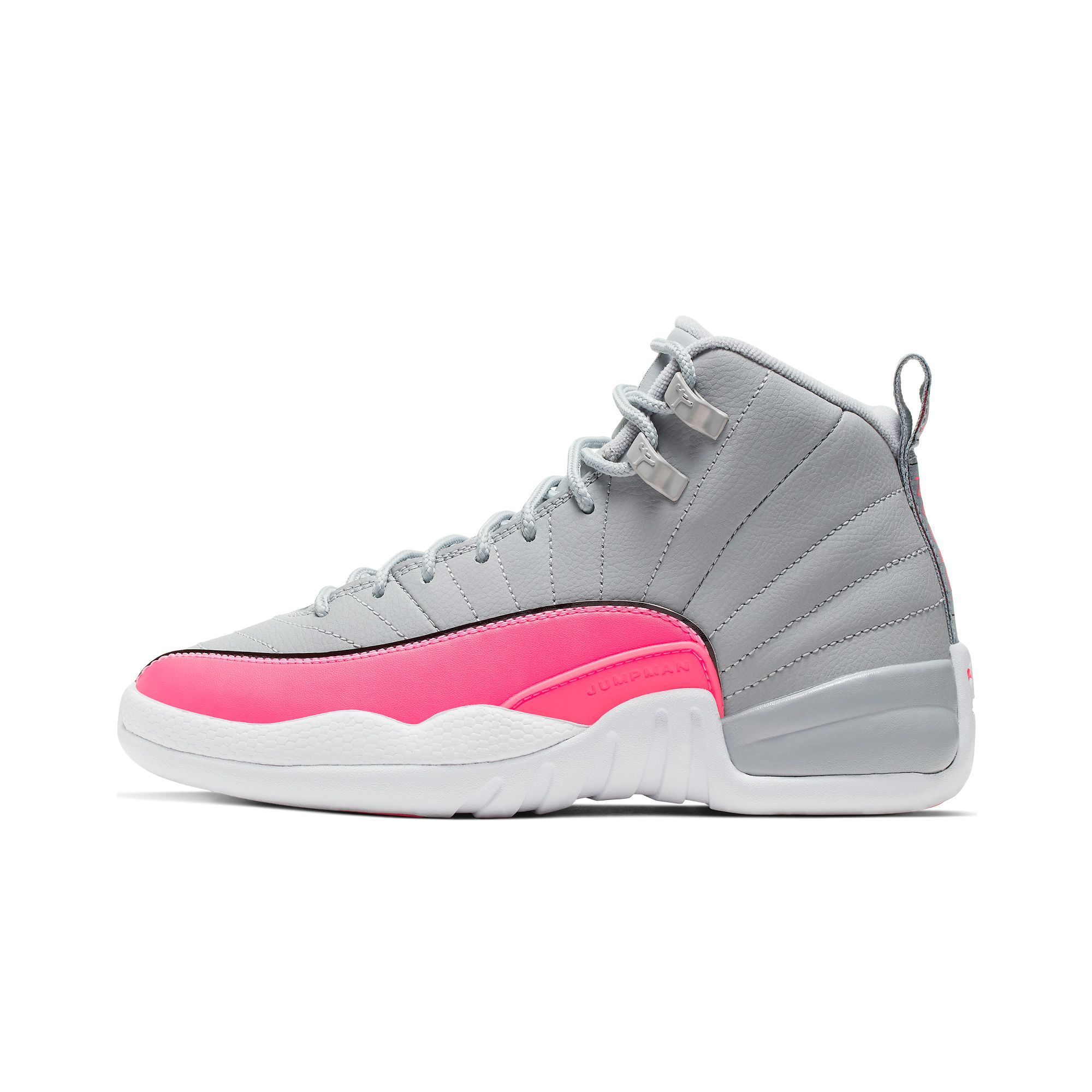 Pin by La'zyriah Brayboy on Zy best shoes | Pink and gray jordans ...