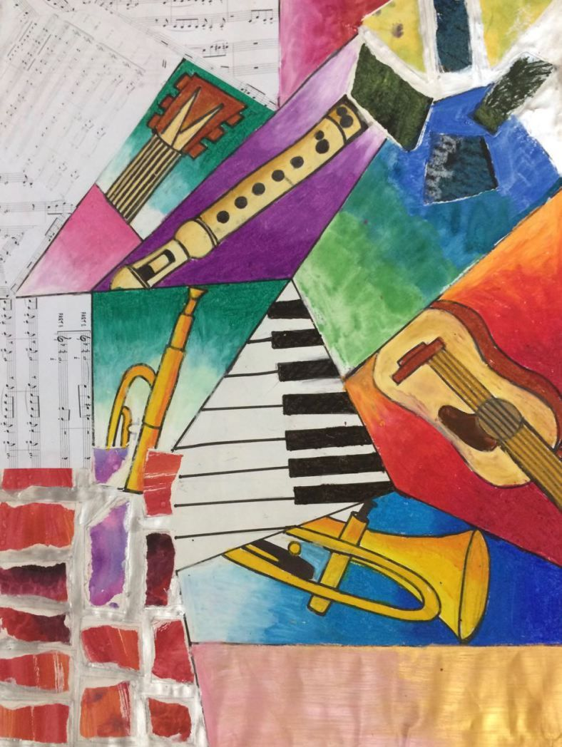 History of watercolor art - Music And Art To Express Ourselves G7