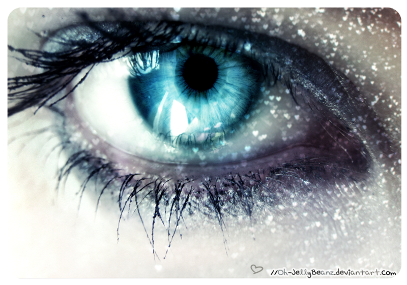 Gwens eyes MUST USE Icy Blue Eye by Oh-JellyBeanz ... Human Ice Blue Eyes