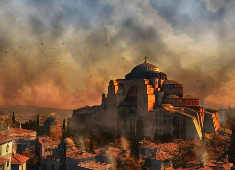 Η «Σοφία» της Αγίας Σοφίας | Κωνσταντινούπολη, Ιστορία, Ζωγραφική