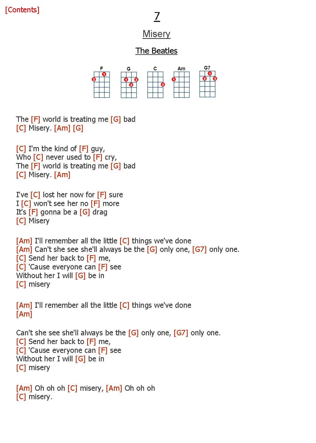 Songs For The Ukulele Uke Beatles Ukulele Easy Ukulele Songs