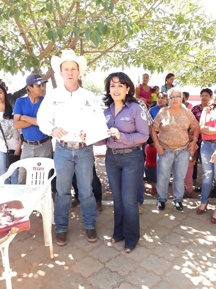 Dadas las gestiones realizadas por la alcaldesa Miriam Caballero Arras, el día de ayer se firmó el convenio para la perforación de un nuevo pozo...