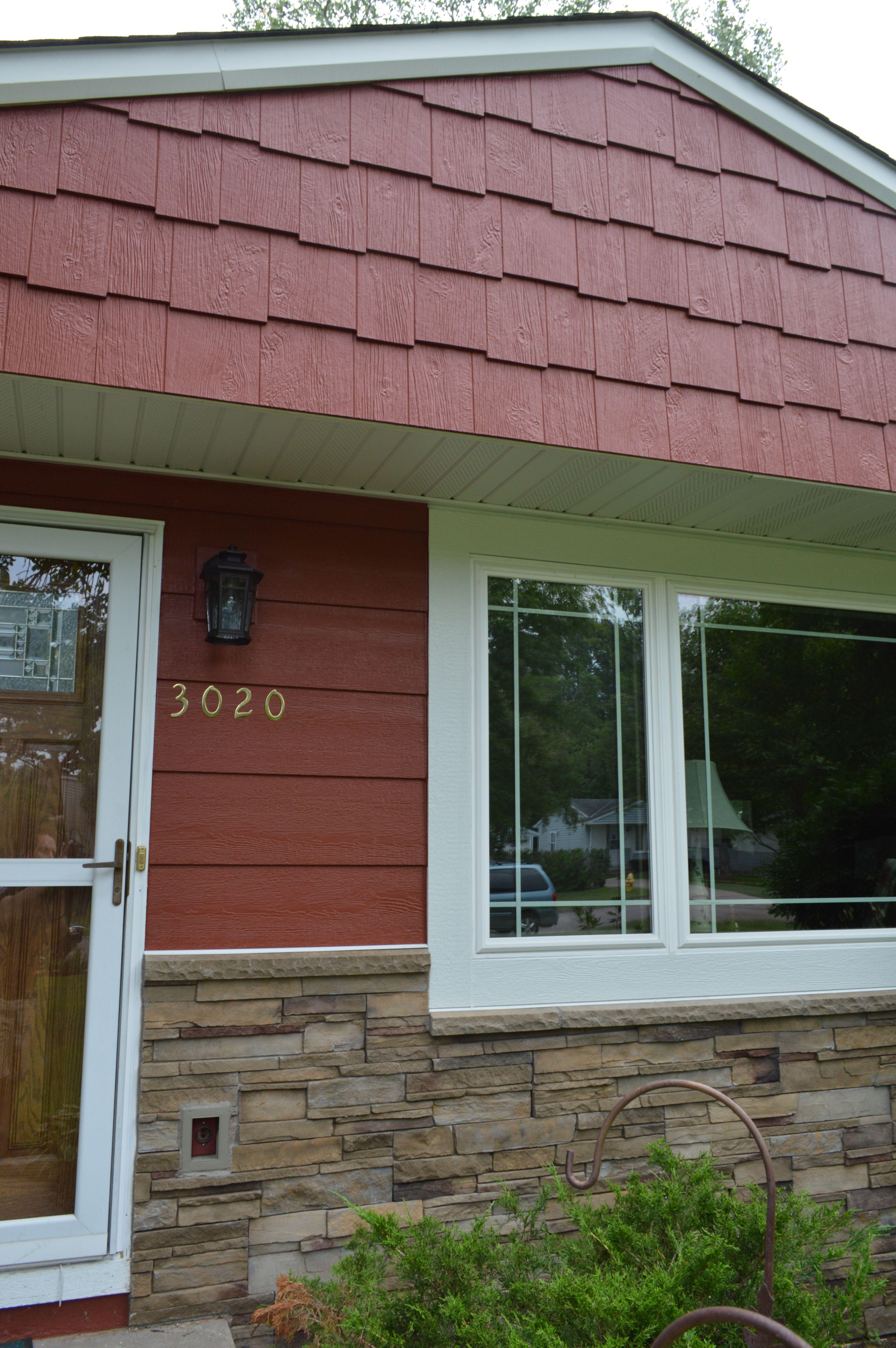 Lp Smartside Siding Autumn Red Installing Siding Siding Engineered Wood Siding