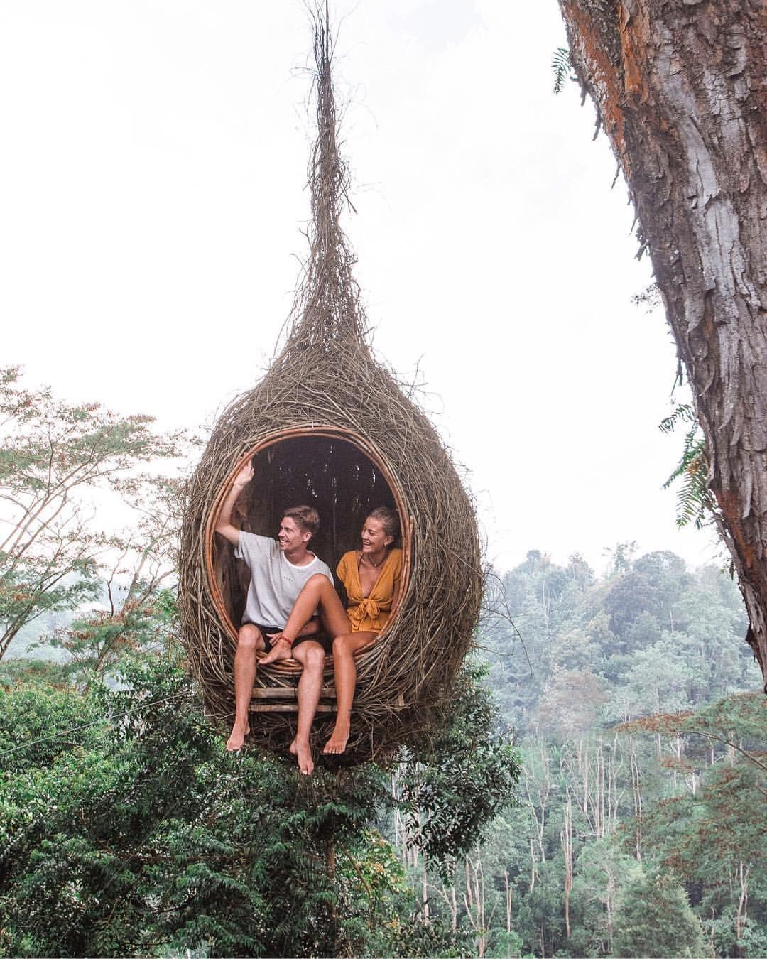 Wanagiri Hidden Hill Munduk Bedugul Bali Indonesia - Wanderers & Warriors - Charlie & Lauren UK Travel Couple - Instagram Spots Bali - Birds Nest Bali