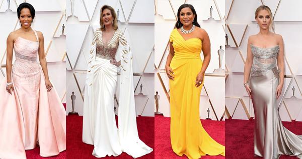 أجمل فساتين النجمات في حفل الأوسكار 2020 Dresses One Shoulder Formal Dress Fashion