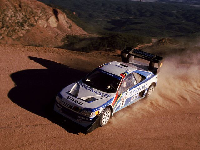 Peugeot 405 T16 At Pikes Peak Peugeot Pikes Peak Racing