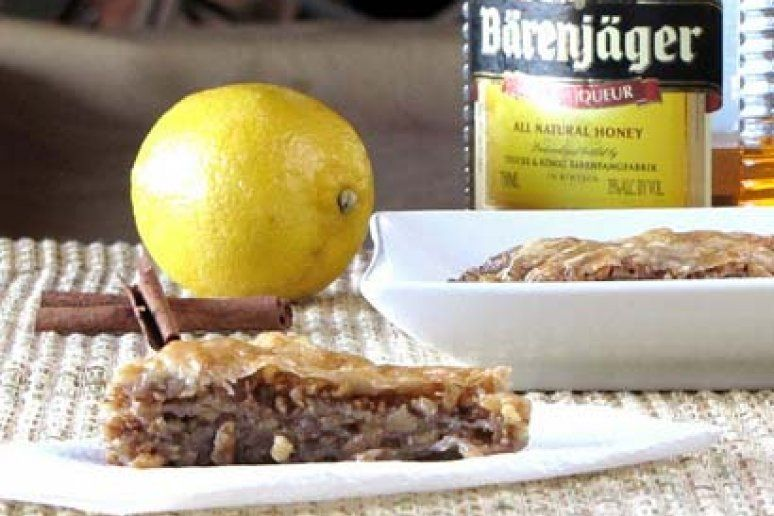 Baklava is one of my all time favorite desserts. It features the classic Greek ingredient of phylo dough, spices, honey, and walnuts.    Adapted...