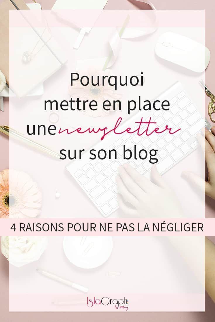 pourquoi mettre en place une newsletter sur son blog