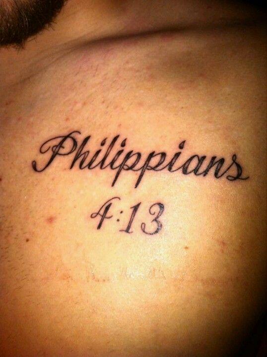 Phil 4 13 Liberty Tattoo Tattoo Quotes Tattoos