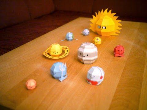 Kerajinan Anak Miniatur Tata Surya Matahari Ilmu Pengetahuan Untuk Sd Kerajinan Anak