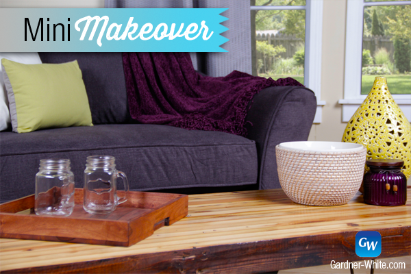 This Mini Makeover focuses on a tiny part of the home: the Reading Nook. Whether you need to update yours or start from scratch, we have you covered. #GWMiniMakeover