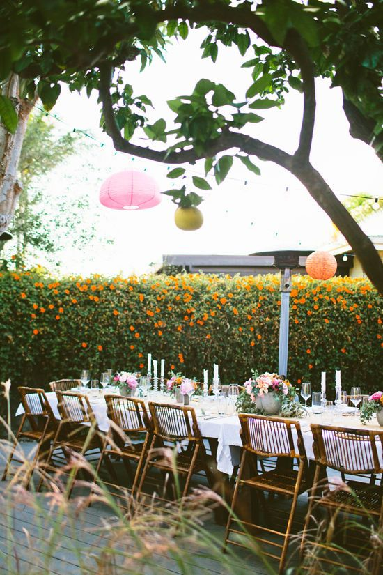 Backyard Dinner Party | MAZE | Mariage dans le Jardin, Faire la fête ...