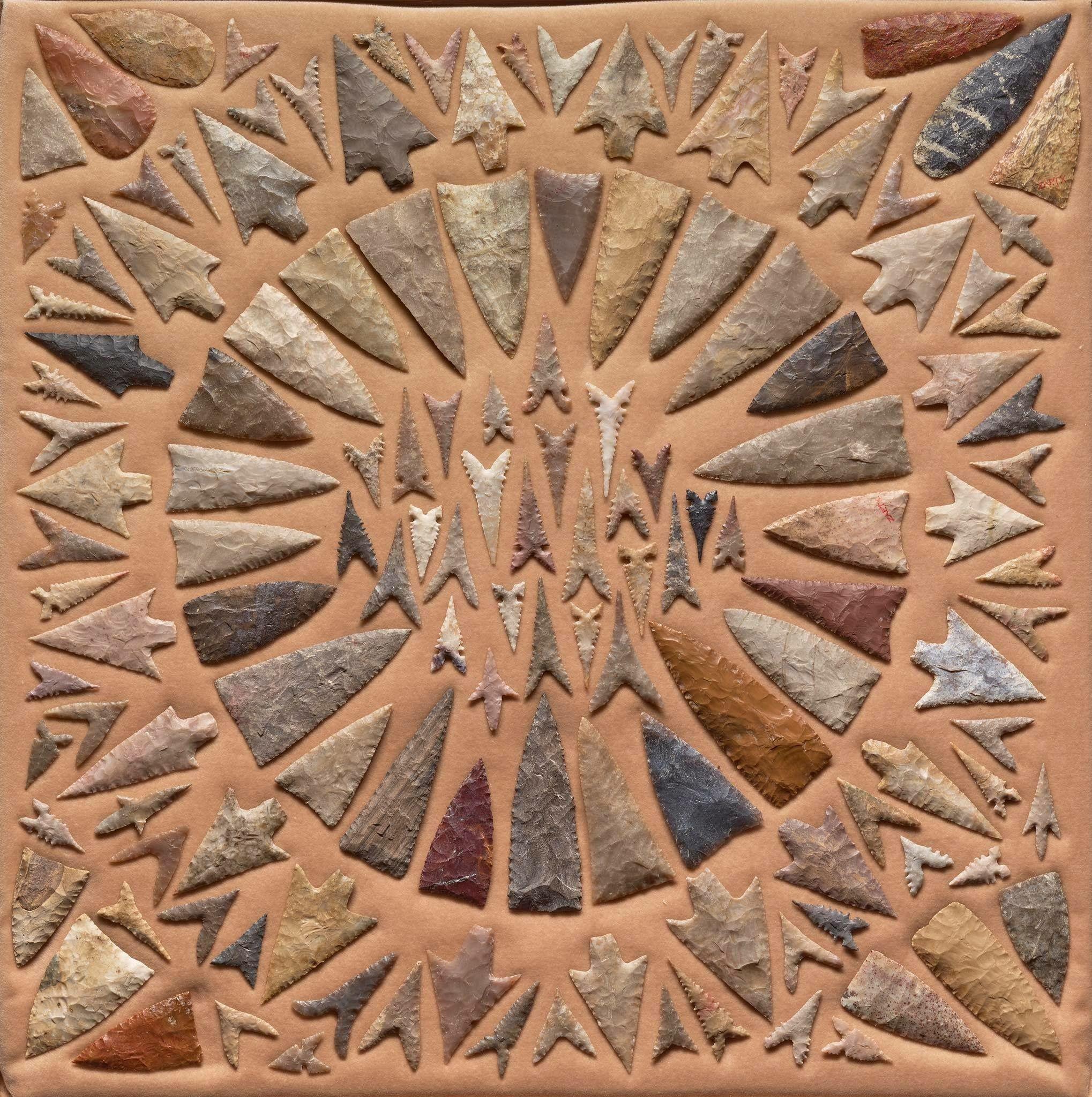brown county texas arrowheads