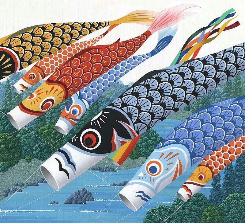 鯉のぼり イラスト