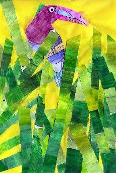 Photo arts visuels ecole pinterest - Animaux de la jungle maternelle ...