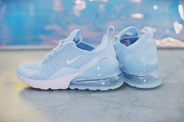 sports shoes c9a69 23f5a Nike Air Max 270 Sky Blue Ah8050 410 High Quality Low Price ...