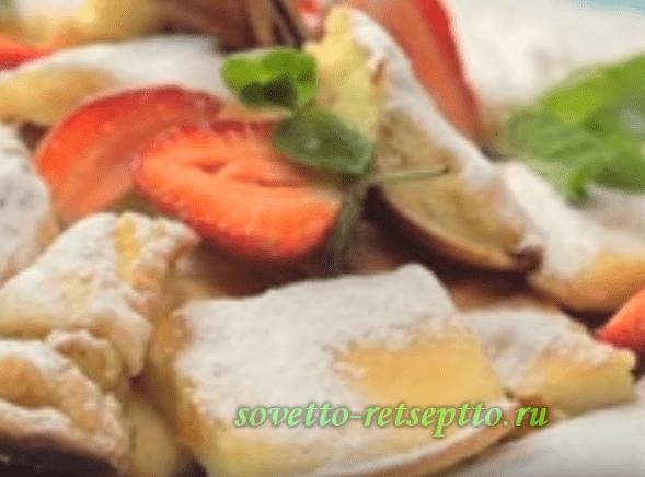 Запеканка с куриным филе и творогом