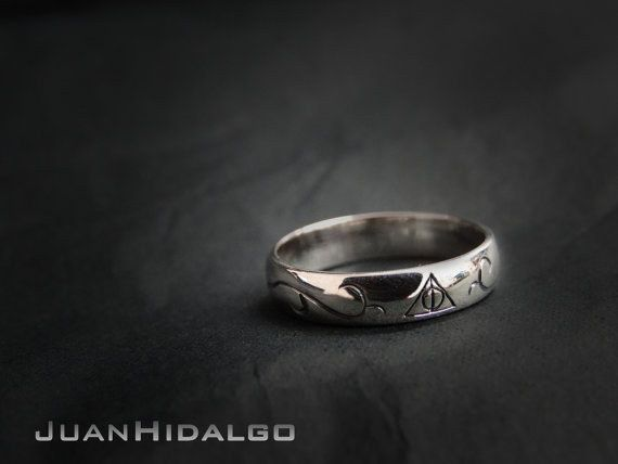 Harry Potter Ring Harry Potter Always Mens Fanatic Geek Sci Fi Boys Girl Womens Beveled Rose Gold Ring Tungsten Wedding Bands Rings For Men Wedding Ring Bands