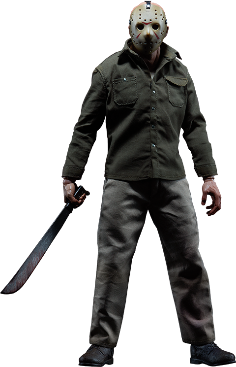 Friday The 13th Jason Voorhees Sixth Scale Figure By Sidesho Sideshow Collectibles Jason Voorhees Friday The 13th Action Figures Funny