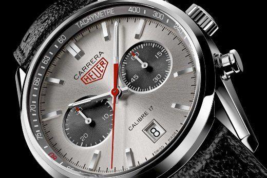 Tag Heuer Carrera Calibre 17 chronograph Jack Heuer 80e anniversaire cd1128e82979