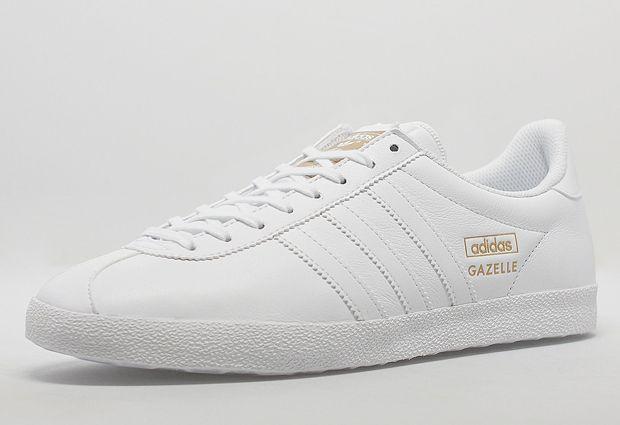 adidas gazelle pelle bianche