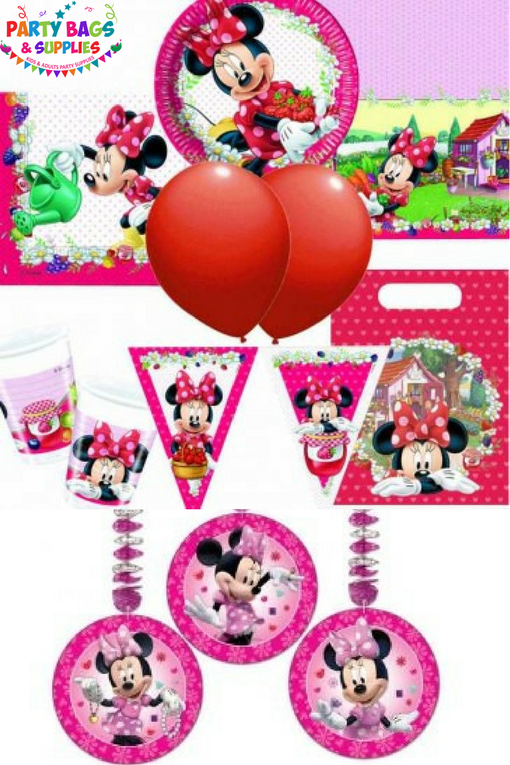 Throw a fabulous party for your Minnie Mouse Bow-tique fan with our ...