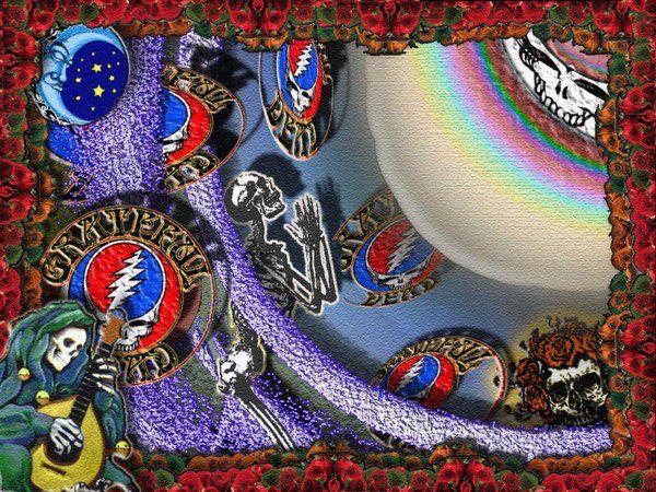 Deadhead Hippsterman In 2020 Grateful Dead Wallpaper Trippy Wallpaper Grateful Dead