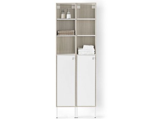 bathroom rolled cabinet storage and towel folded towels for