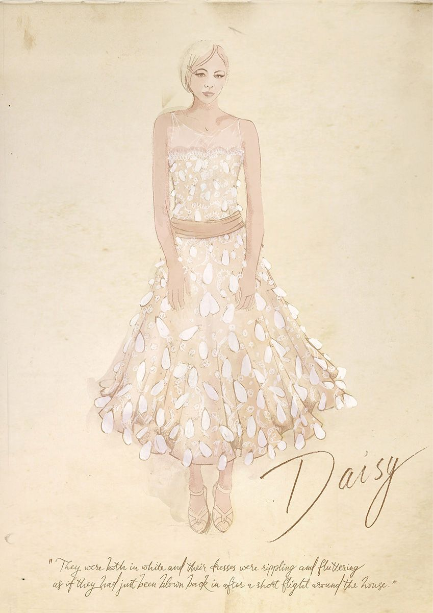 Illustrations courtesy catherine martinbazmark dresses