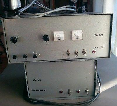 VTG D & A Manf Co WARRIOR KWD 1000 Watt Tube Ham Radio