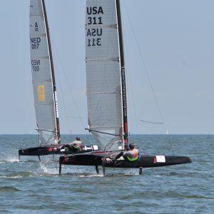 Dna F1 A Cat Dna Performance Sailing Olympic Sailing Sailing Catamaran