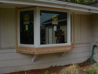 Pella Bay Windows Bay Window Exterior Window Shutters Exterior