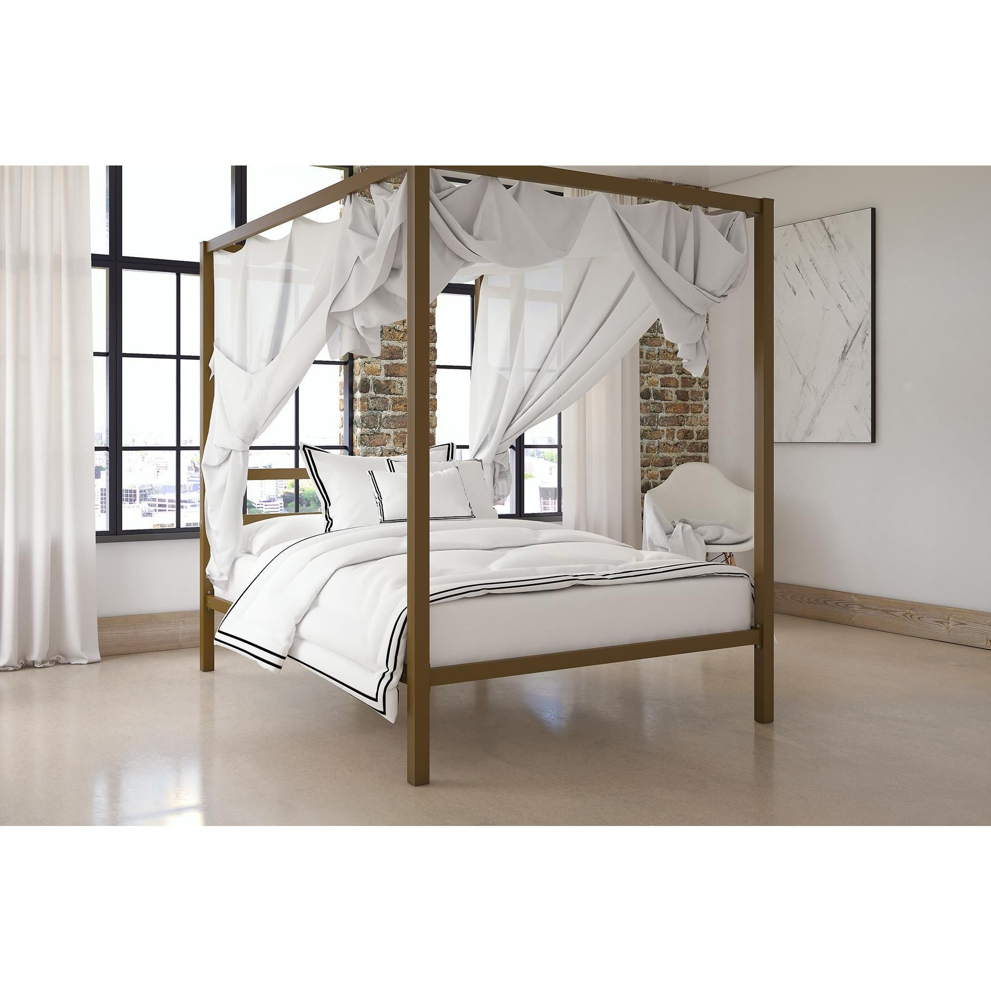 Home roomy in 2019 modern canopy bed metal canopy bed