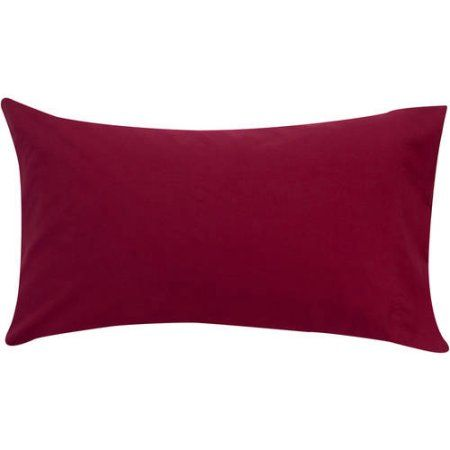 Silk Pillowcase Walmart Mainstays 200 Thread Count Pillowcase Set Red  Walmart And Products