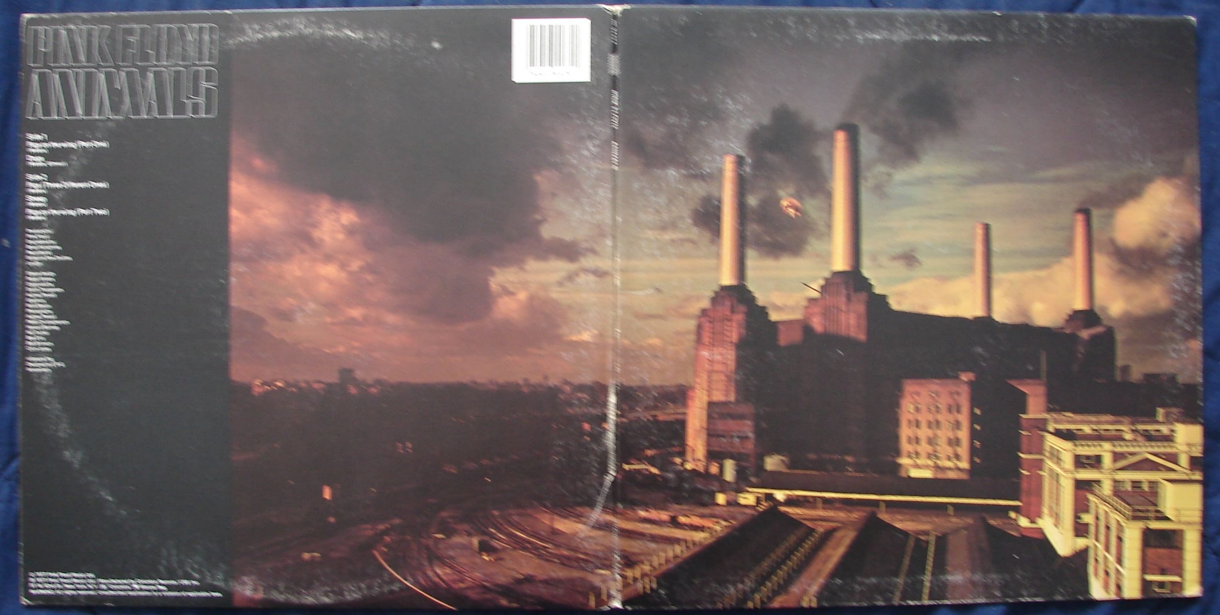 Pink Floyd Animals (With images) Pink floyd albums