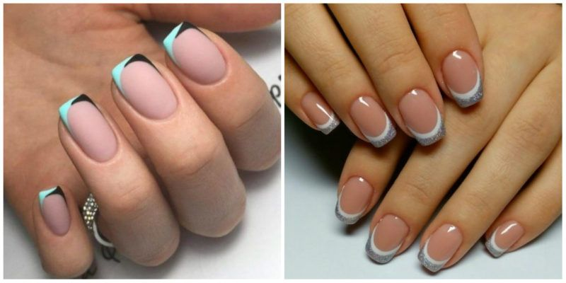 Nail Designs For Short Nails 2019 French Nail Design Without Cuticles Classy Nail Art Ideas French Nail Designs Trendy Nail Art