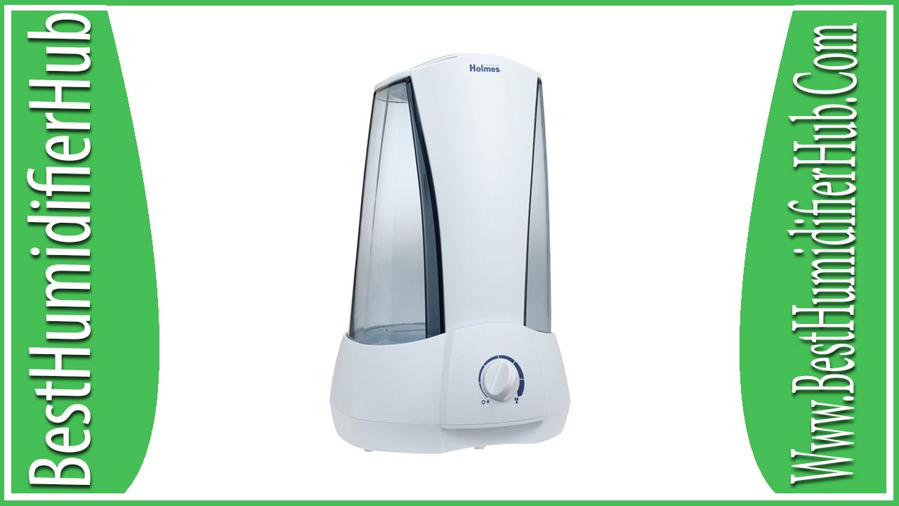 Holmes Ultrasonic Humidifier Filter Free Variable Mist Control Fogger Circuit Atomizer Review