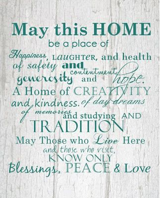 May this home be a place of happiness... jennifer