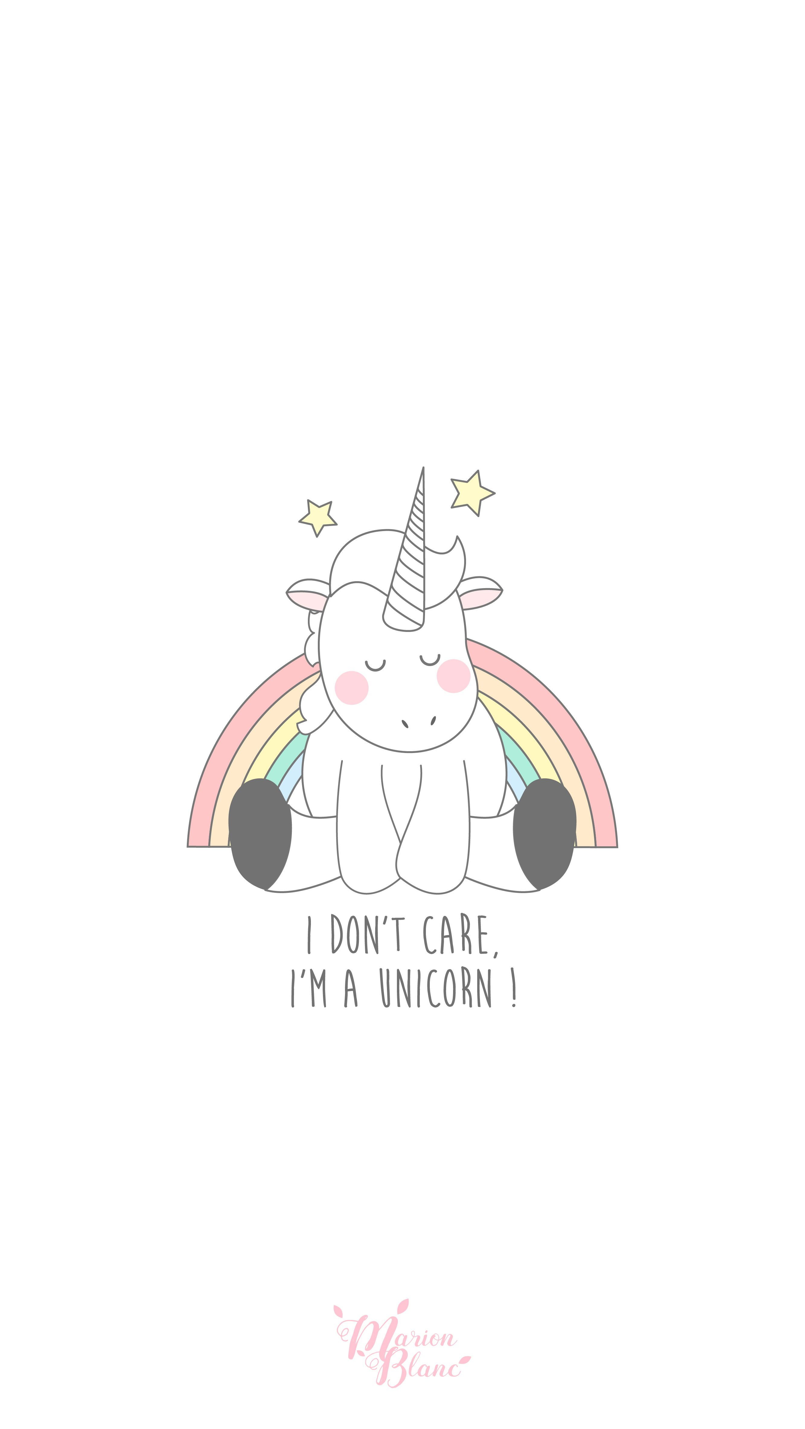 Unicorn Marion Blanc Beautiful Pinterest Unicorns