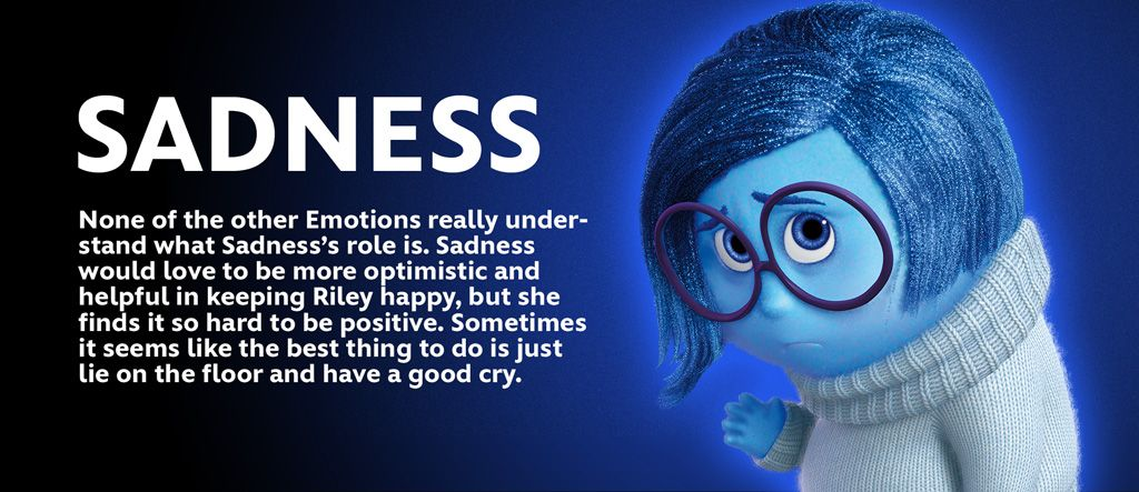 Inside out inside out emotions sadness inside out